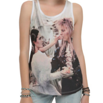 Labyrinth Dance Girls Sublimation Girls Tank Top