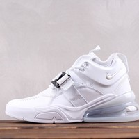 HCXX Nike Air MAX 270 Mid AH6772-010 Cauasl Running Shoes All White