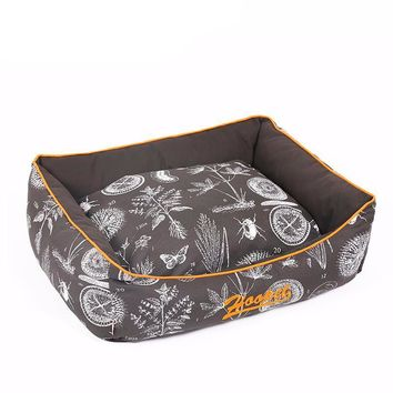 Dog Soft Flower Print Bed