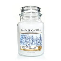 1042911 Winterland Yankee Candle 22oz Jar Candle