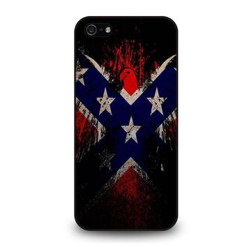 browning rebel flag iphone 5 5s se case cover  number 1