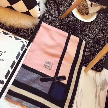 Givenchy Women Fashion Cashmere Scarf Scarves