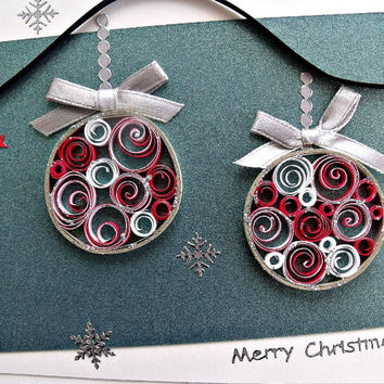 Shop Paper Quilling Christmas Ornaments On Wanelo