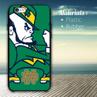 Notre Dame Fighting irish Nfl iPhone 4/4S, 5/5S, 5C, 6 Series Hard Plastic Case