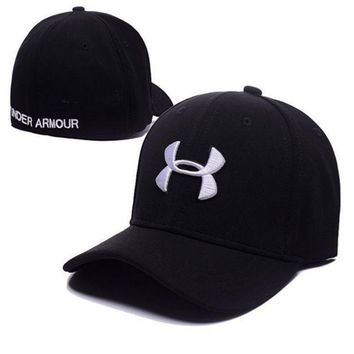 PEAPDQ7 Cool High Quality UNDER ARMOUR Embroidered Baseball Cap Hat-Black