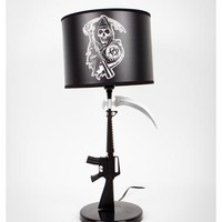 Sons of Anarchy Gun Lamp