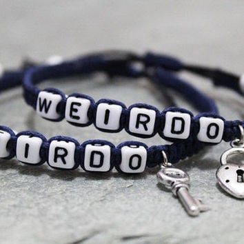 Weirdo Bracelets S Boyfriend Friend Jewelry Anniversary Gifts