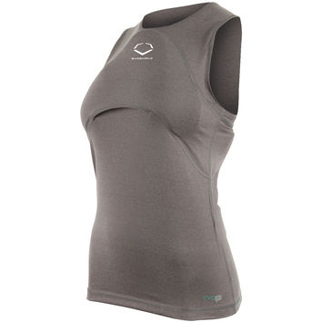 EvoShield Racerback Chest and Back Guard Youth Fastpitch - Carbon
