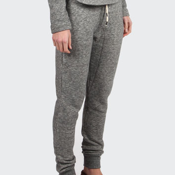 Tove Wool Sweat Pants - grey melange