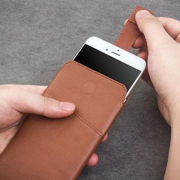 ONETOW QIALINO Leather wallet Case for iphone 6 6s 4.7 new Pouch for iphone 6 plus 6s plus 5.5' Leather with Card Slot Luxury Case