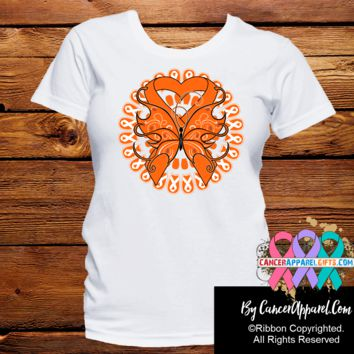 Kidney Cancer Stunning Butterfly Shirts