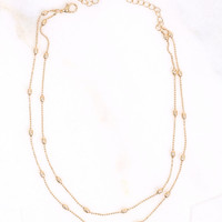 Altar'd State Take A Chance Choker Necklace - Jewelry