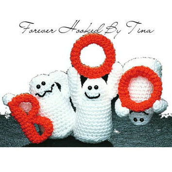 Boo! 3 Ghost Halloween Decoration