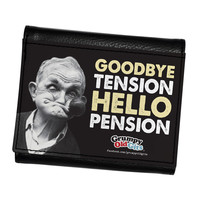 Hello Pension Premium PU Faux Leather Wallet by Grumpy Old Gits