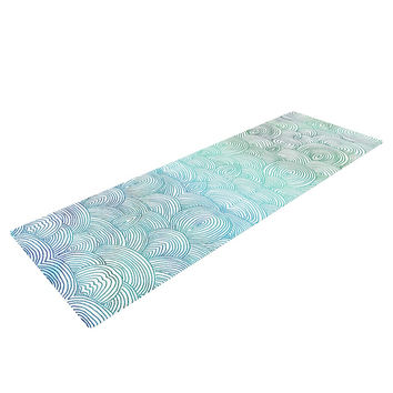 "Pom Graphic Design ""Clouds in the Sky"" Yoga Mat"