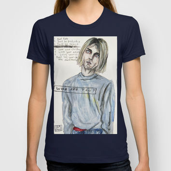 Kurt cobain // What is wrong with me? T-shirt by Lucas David | Society6