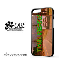 Twin Peaks Tv Show For Iphone 6 Iphone 6S Iphone 6 Plus Iphone 6S Plus Case Phone Case Gift Present YO