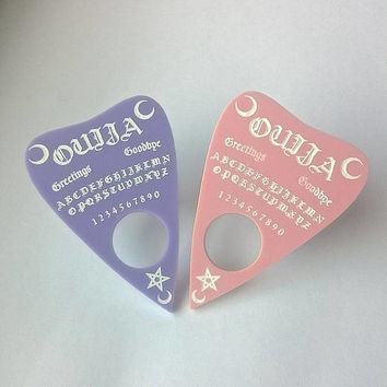 Pastel Ouija Planchette Ring (Colour Options)