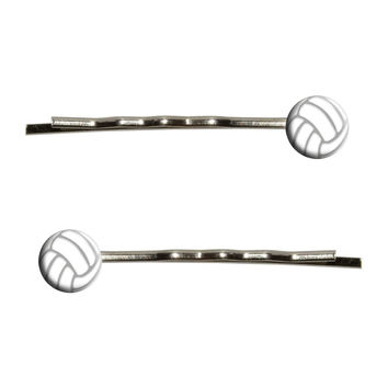 Volleyball Sporting Goods Sportsball Bobby Pin Hair Clips