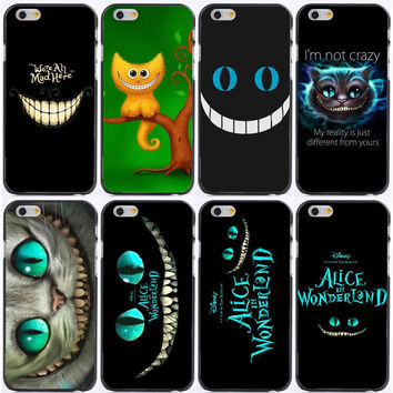 Alice in Wonderland Cheshire Cat  Cases  for iPhone 6 6s