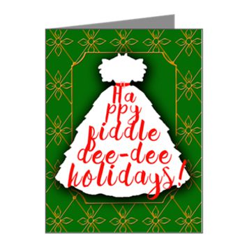 Happy Fiddle Dee Dee Holiday Note Cards (Pk of 10)> Happy Fiddle Dee Dee Holidays> Rhett And Scarlett