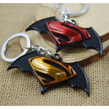 Superman VS Batman Keychain