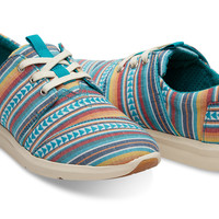 MULTI BLANKET STRIPE WOMEN'S DEL REY SNEAKERS