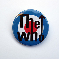 "The Who 1x1.5"" pinback button badge from Stickerama"