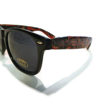Red and Gold Wayfarers
