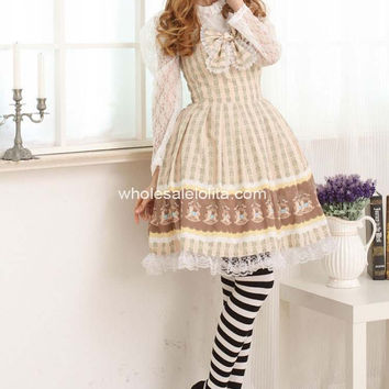 Royal Chocolate Sweet Lolita Dress with Bow