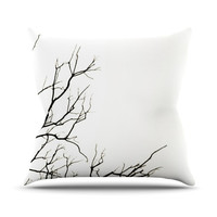 "Skye Zambrana ""Winter"" Outdoor Throw Pillow"