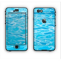 The Crystal Clear Water Apple iPhone 6 Plus LifeProof Nuud Case Skin Set