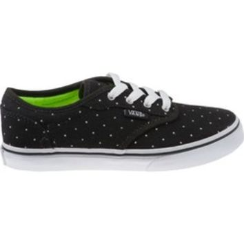 Academy - Vans Girls' Atwood Low Skate Athletic Lifestyle Shoes