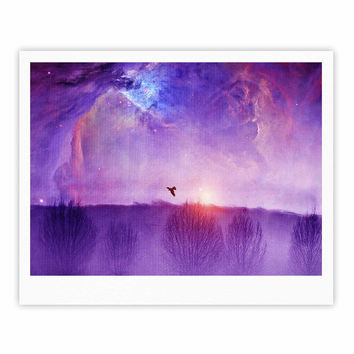 "Viviana Gonzalez ""Orion Nebula"" Purple Blue Fine Art Gallery Print"