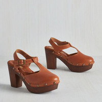 Boho Florence and the Mystique Heel in Cognac