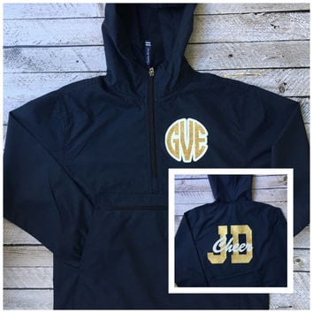 Custom Cheerleader Jackets, Cheer Squad Jacket, Rain Jacket, Pullover Rain Jacket, Cheer Team Jackets, Rain Jackets for Cheer