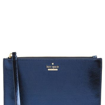 kate spade new york highland drive - yury faux leather zip pouch | Nordstrom