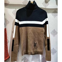 LV High-collar undercoat jacket