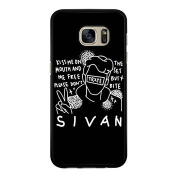 Troye Sivan Art Kiss Me On Mouth Arf 001  Samsung Galaxy S7 Case