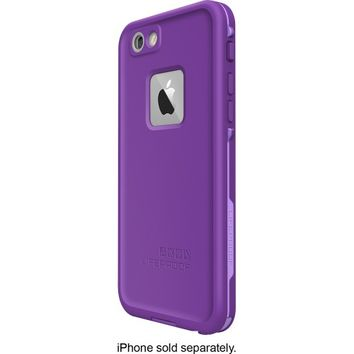 LifeProof - FRE Hard Case for Apple® iPhone® 6 - Purple