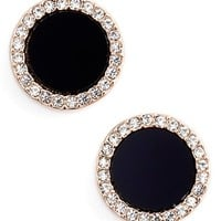kate spade new york 'in the spotlight' circular stud earrings | Nordstrom