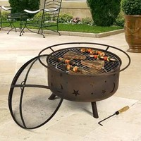 Outdoor Classics Cosmic Fire Pit Grill