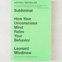 Subliminal By Leonard Mlodinow - Urban Outfitters