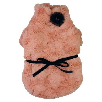 Pet Life Pink-Mink Luxury Designer Pet Coat - Dog Clothes at Hayneedle