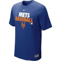 Nike New York Mets AC Dri-FIT Cotton Performance Tee - Men