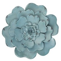 Blue Layered Metal Flower Wall Decor | Shop Hobby Lobby