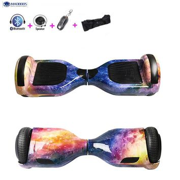 Self Balance Scooter For Kid Electric Skateboards Gyroscooter Overboard Stand Up Hoverboard Bluetooth Giroskuter Mini Skywalker