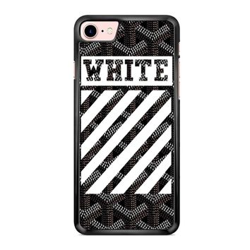 Off White Goyard Black iPhone 7 Case