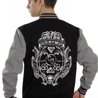 Chelsea Grin - Diamonds Black/Grey - College Jacket