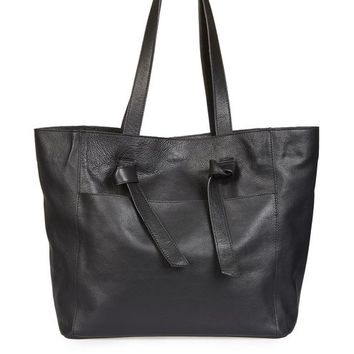 TYSON Leather Knot Tie Shopper Bag - Bags & Wallets - Bags & Accessories